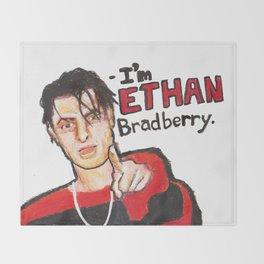 I'M ETHAN BRADBERRY H3H3 meme in oil pastel Throw Blanket