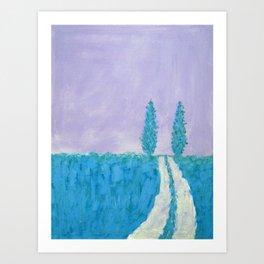 Open Road II Art Print