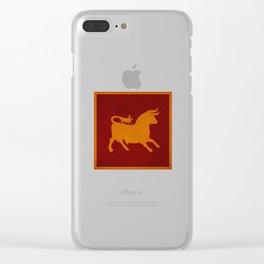 Caesar's Legion Clear iPhone Case
