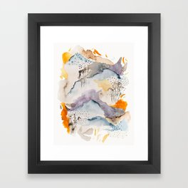 marmalade mountains Framed Art Print