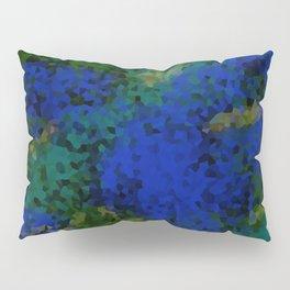 Peacock crystal mosaic Pillow Sham