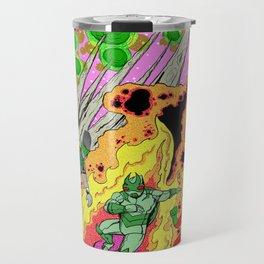 Shamanic Fire Dance Travel Mug