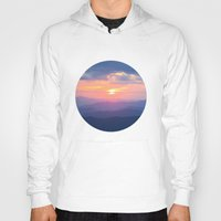 tennessee Hoodies featuring Sunset in Tennessee by GF Fine Art Photography