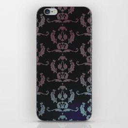 Damask Print iPhone Skin