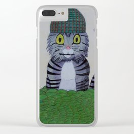 Grenade Kitty Clear iPhone Case