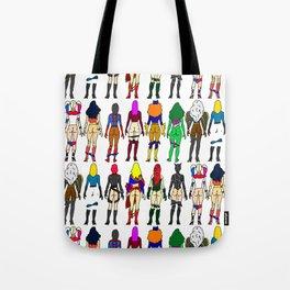 Superheroine Butts Tote Bag