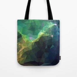 Galaxy low poly 3 Tote Bag