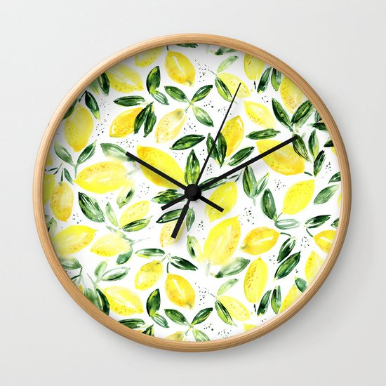 So luscious lemons    watercolor by katerinaizotova