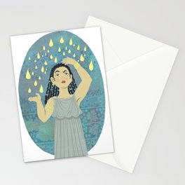 DANAE and the golden rain Stationery Cards