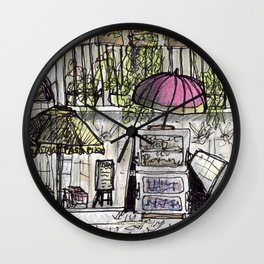City Landscapes - Piazza Navona - Rome - Italy Wall Clock