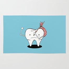 Its Tooth Soon To Say Goodbye Rug