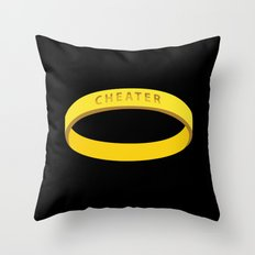 Cheater Throw Pillow