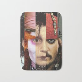 Faces Johnny Depp Bath Mat