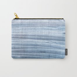 Blue waves abstract painting Carry-All Pouch