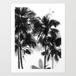 Paradis Noir VII Art Print