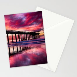 Warm Winter's Sunset Stationery Cards