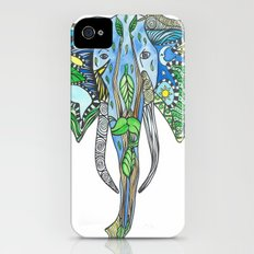 Tatoo Elephant Slim Case iPhone (4, 4s)