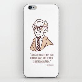 Ray Bradbury iPhone Skin