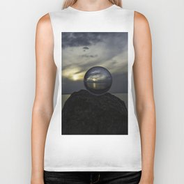 See the world more clearly Biker Tank