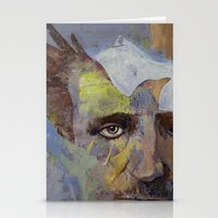 poe Stationery Cards featuring Poe by Michael Creese