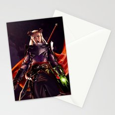 Dragon Age Inquisition - Eva the Qunari warrior Stationery Cards
