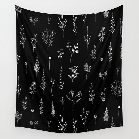 Black wildflowers by aniiiz