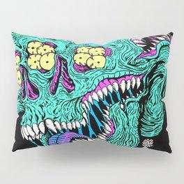 Skull Monster Pillow Sham