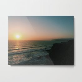 Finding Forever at Paracas, Peru Metal Print