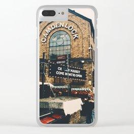 Camden Lock Clear iPhone Case