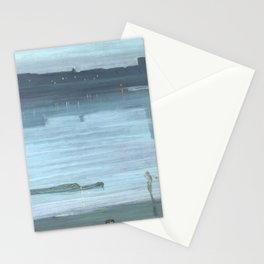Nocturne - Blue and Silver - Chelsea by James McNeill Whistler Stationery Cards