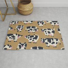 Cow Collection - Kraft Rug
