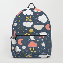 Fashion Weather Elements Pattern Art Backpack