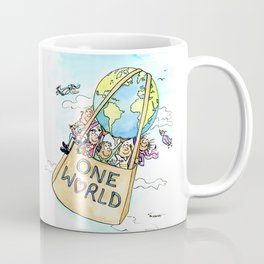 One World Together Eco Art Coffee Mug