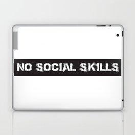 No social skills Laptop & iPad Skin