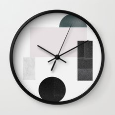 Black ball Wall Clock