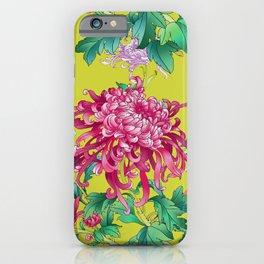 Oriental Flowers iPhone Case