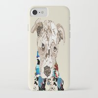 pit bull iPhone & iPod Cases featuring a pit bull day by bri.buckley