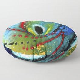 Tropical Fish - Colorful Beach Art By Sharon Cummings Floor Pillow