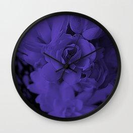 PURPLE NARDS Wall Clock