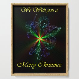 We Wish you a Merry Chistmas Serving Tray