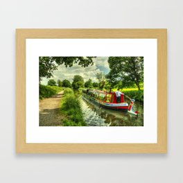 Tivertonian at Manley Bridge Framed Art Print