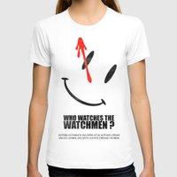watchmen T-shirts featuring The Watchmen (Super Minimalist series) by Itomi Bhaa