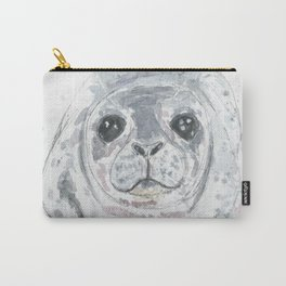 Big baby seal Carry-All Pouch
