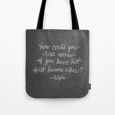 Nietzsche on Rising Anew Tote Bag