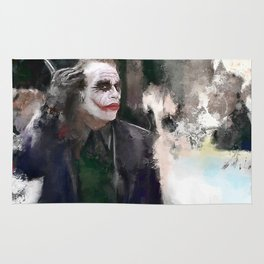 The Joker - Why So Serious Rug