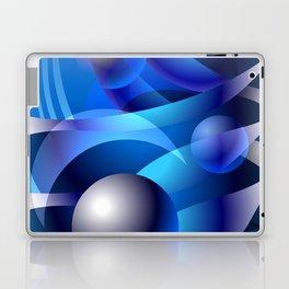 WATERMOON Abstract Art to Attract Good Energy Laptop & iPad Skin