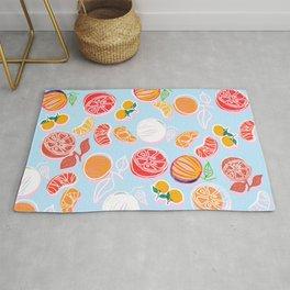 Oranges and Tangerines Pattern Rug