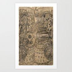 Cog castle Art Print