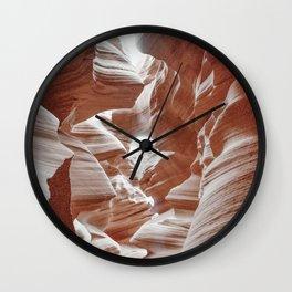 ANTELOPE CANYON XXXI Wall Clock