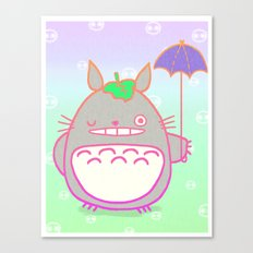 TotoroFan art  Canvas Print